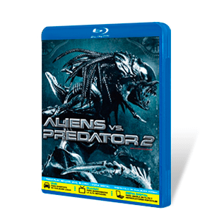 Alien vs Predator 2 Bluray + DVD + Copia Digital