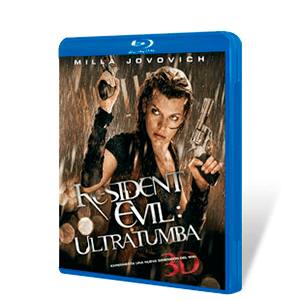 Resident Evil Ultratumba Bluray 3D