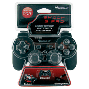 Controller Subsonic Sixaxis Negro