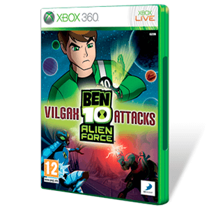 Ben 10 Alien Force Vilgax Attacks