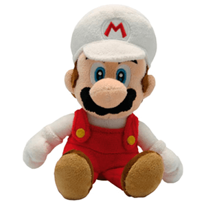 Peluche Mario Fire 20cm