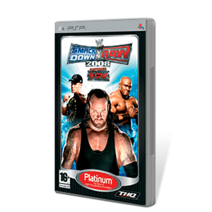 WWE Smackdown vs Raw 2008 Platinum