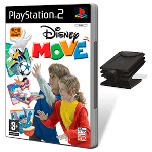 Disney Move + Camara (Eye Toy)