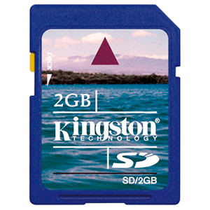 Tarjeta SD Kingston 2 Gb