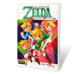 The Legend of Zelda 8: Four Swords Adventures