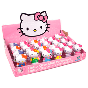 Hello Kitty Mini Personajes (Expositor)