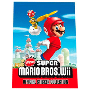 Album Cromos New Super Mario Bros