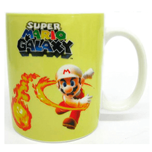 Taza Super Mario Galaxy: Mario Fire