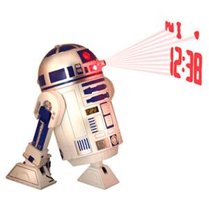 Reloj Proyector Star Wars R2D2