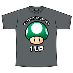 Camiseta Gris 1 UP Talla L