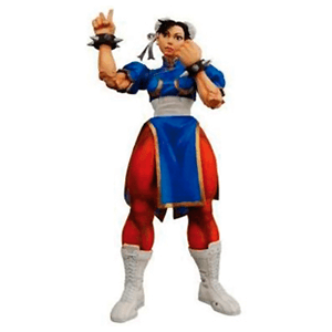 Figuras Street Fighter IV (ChunLi-Akuma-Guile)