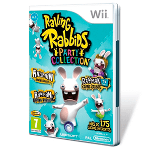 Pack Rabbids Party Raving Rabbids 1 + 2 + TV
