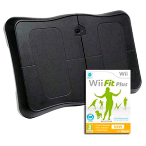 Wii Fit Plus + Tabla equilibrio negra