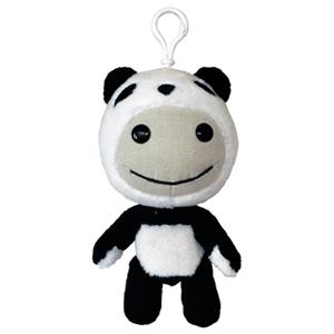 Peluche Llavero 3D Panda 11cm