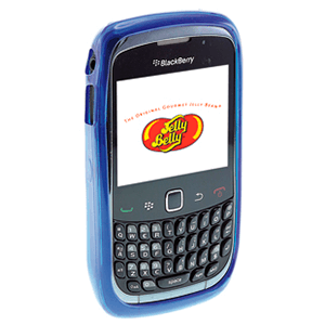 Carcasa Jelly Belly Blackberry Blueberry azul