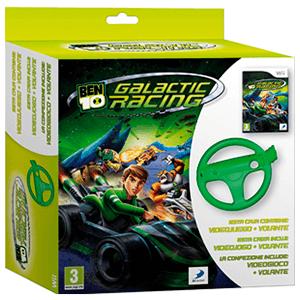 Ben 10 Galactic Racing + Volante