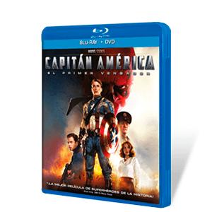 Capitán América BD + DVD
