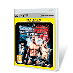 WWE Smackdown vs Raw 2011 Platinum