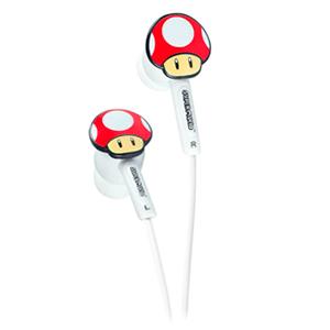 Auriculares Mushroom Licenciado Nintendo