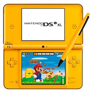 Nintendo DSi XL Amarillo