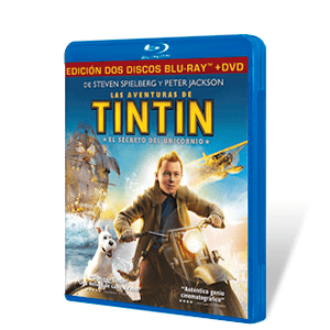 Tintin: El Secreto del Unicornio Bluray + DVD