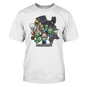 Camiseta Minecraft Party Youth Talla L