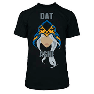 "Camiseta League of Legends ""Dat Ashe"" Talla L"