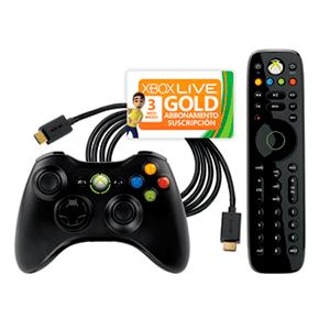 Essential Pack Microsoft HDMI + Mando Inalambrico + Dvd Remote + 3 Meses Live