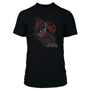 "Camiseta League of Legends ""Ziggs"" Talla M"
