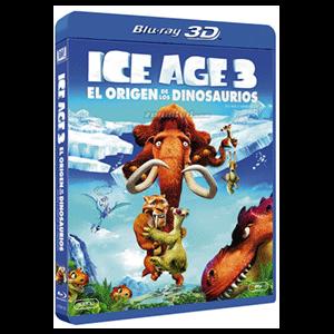 Ice Age 3: El Origen De Los Dinosaurios (Combo)+3D