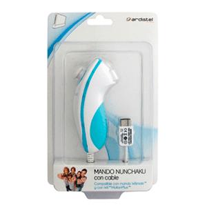 Mando Nunchako con Cable Ardistel Blanco