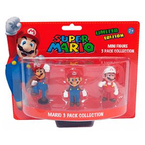 Super Mario Pack 3 Minifiguras Mario