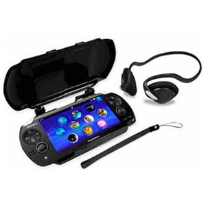 Pack Funda + Headset Play Thru Kit 4Gamers -Licencia oficial Sony-
