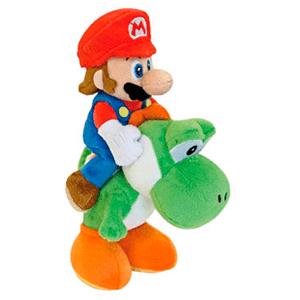 Peluche Mario y Yoshi 22cm