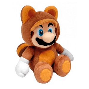 Peluche Tanooki Mario 28cm