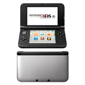 Nintendo 3DS XL Negra y Plata