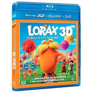 Lorax, En Busca De La Trufula Perdida (Combo) + 3D