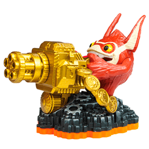 Figura Skylanders Giants V2: Trigger Happy