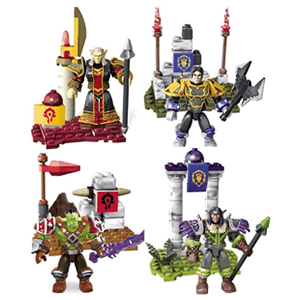World of Warcraft Mini Personajes Megabloks