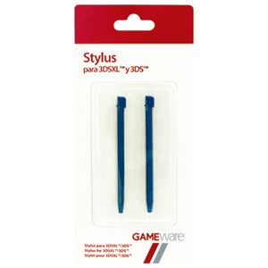 2 Stylus Azul 3DS-XL GAMEware