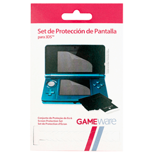 Set de Protección Pantalla para 3DS GAMEware