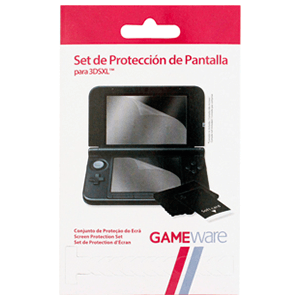 Set Protección Pantalla para 3DSXL GAMEware