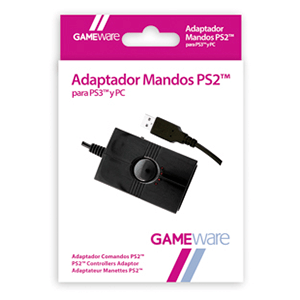 Adaptador Mandos PS2 para PS3-PC GAMEware