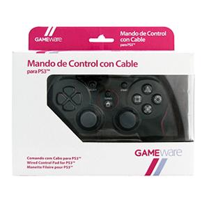 Mando de Control con Cable Negro GAMEware