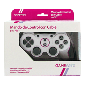 Mando de Control con Cable Blanco GAMEware