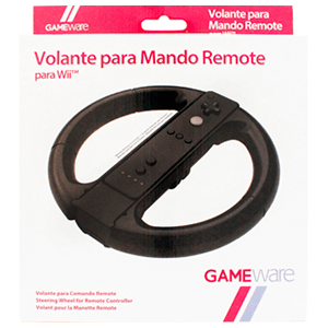 Volante Negro para Mando Remote GAMEware