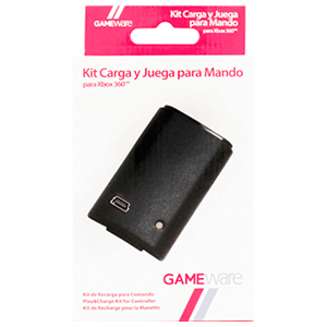 Kit Negro de Carga y Juega GAMEware