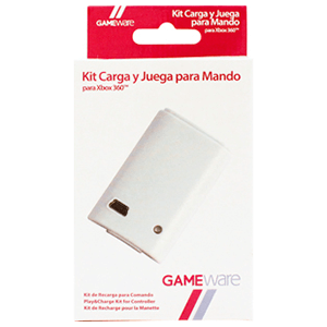 Kit Blanco de Carga y Juega GAMEware