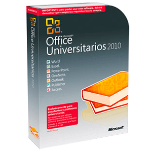 Microsoft Office University 2010 32B-x64 1 Licencia