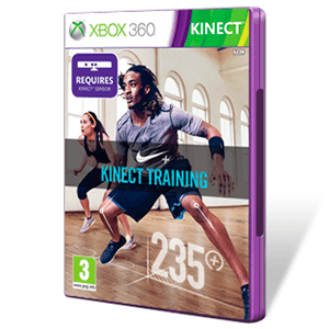 Nike Fitness Kinect Xbox 360 Game Es